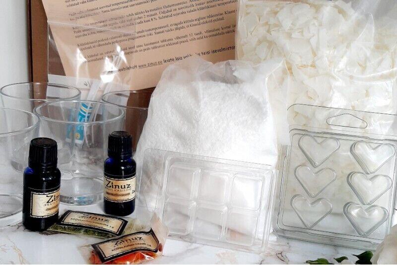 Домашний набор для изготовления свечей и ароматических восков