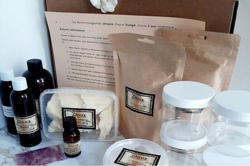 Простой и домашний набор для изготовления натуральных кремов