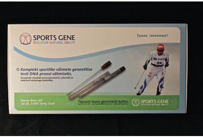 Sportlike võimete geenitest