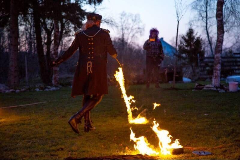 Спонтанный Танец огня