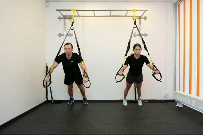 Тренировка TRX в Energy Club в Таллине