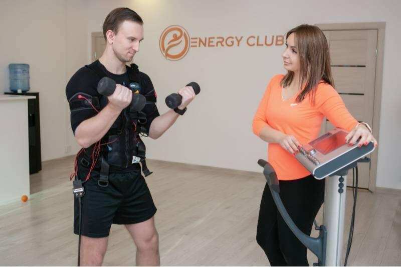 EMS ehk elektriline lihasstimulatsioon kümne korra pääse Energy Club Tallinnas