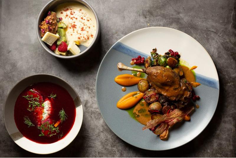 TAKE AWAY! Ужин из 3 блюд в ресторане GC Gastrobar в Таллине