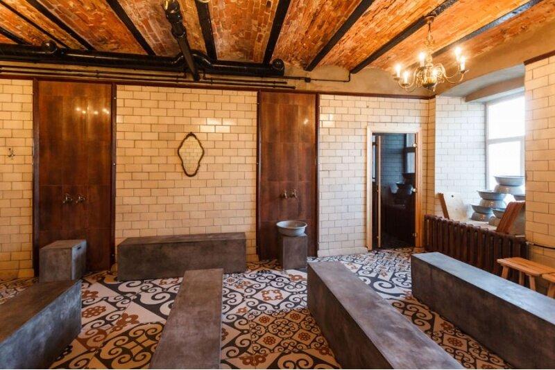 Посещение мужской сауны Tallinna saun