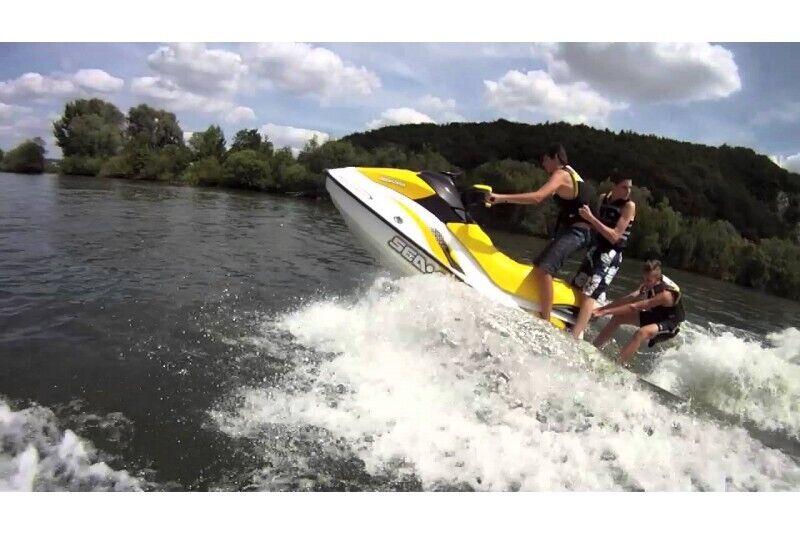 Поездка на водном мотоцикле